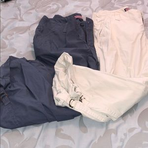 2 pair of vineyard vines ankle pants! Women's 2